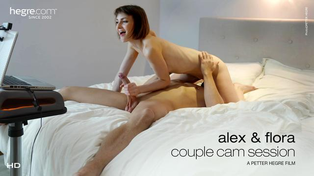 Alex and Flora Couple Cam Session