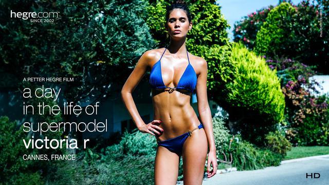Le quotidien de la Top model Victoria R