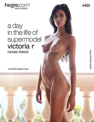 A Day In the Life of Supermodel Victoria R