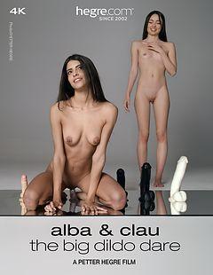 Alba And Clau The Big Dildo Dare