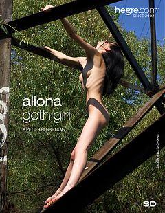 Aliona goth girl