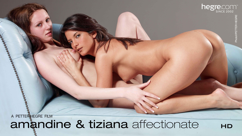 Amandine and Tiziana Affectionate