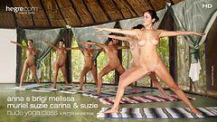 Anna S, Brigi, Melissa, Muriel, Suzie Carina y Suzie