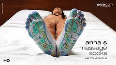 Las calcetas de masaje de Anna S