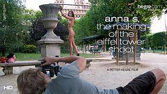 Anna S Cómo se hizo la sesión de La Torre Eiffel