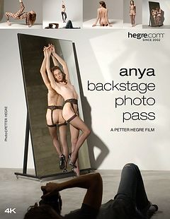 Anya Backstage Photo Pass