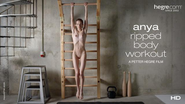 Anya Exercice corporel ardent