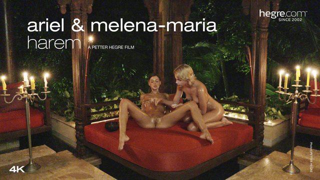 Ariel et Melena Maria Harem