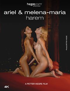 Ariel And Melena Maria Harem