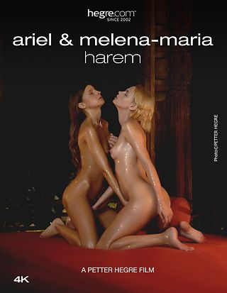 Ariel und Melena Maria Harem