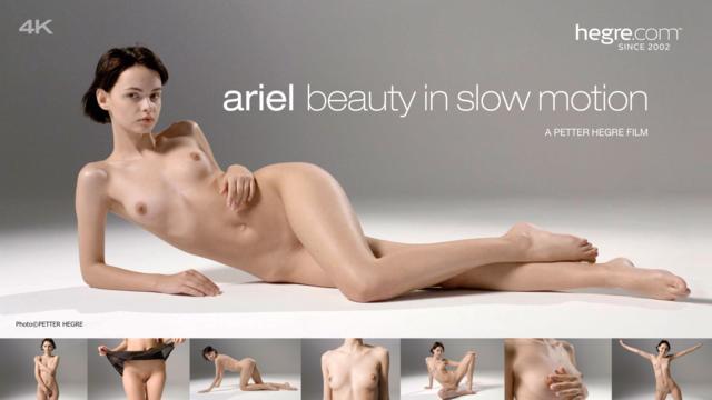 Ariel Beauty In Slow Motion