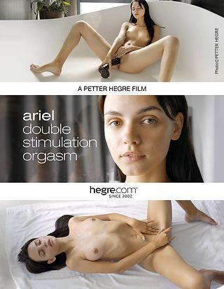 Ariel orgasmo de doble estimulación