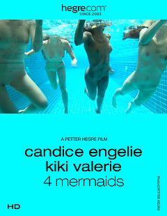 Candice Engelie Kiki Valerie 4 sirenas