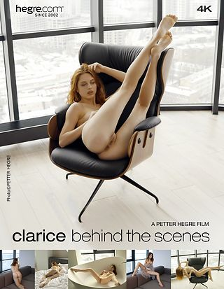 Clarice Behind the Scenes