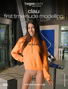Clau First Time Nude Modelling