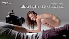 Cleo dans les coulisses