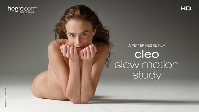 Cleo Slow Motion Study