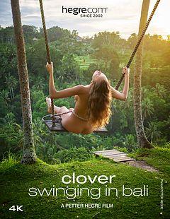 Clover Swinging In Bali
