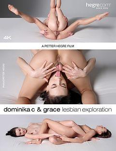Dominika C et Grace Exploration Lesbienne