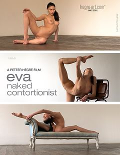 Eva Sexy Naked Contortionist
