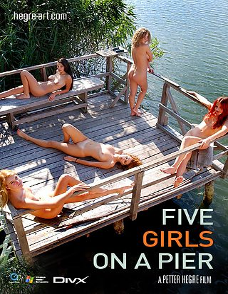 Five Girls on a Pier