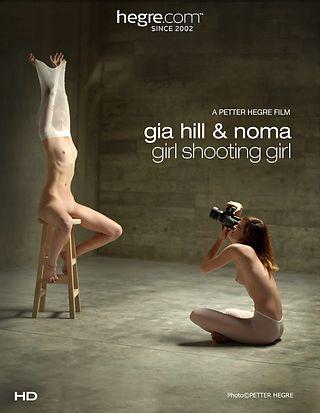 Gia Hill And Noma Girl Shooting Girl