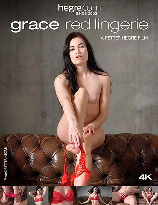 Grace Red Lingerie