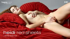 Heidi Red Sheets