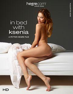 Au lit avec Ksenia
