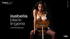 Isabella Black Lingerie