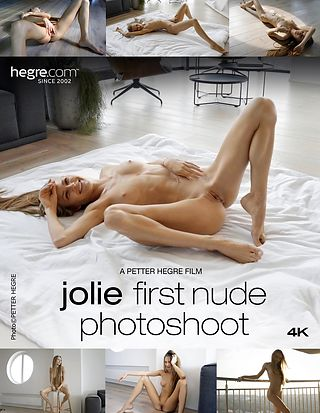 Jolie First Nude Photo Shoot