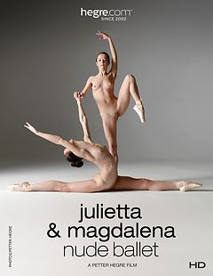 Julietta and Magdalena Nude Ballet