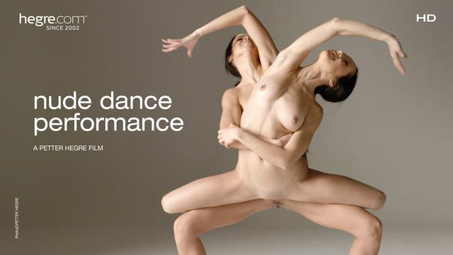Julietta and Magdalena Nude Dance Performance