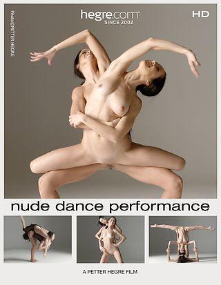 Julietta y Magdalena espectáculo de baile al desnudo