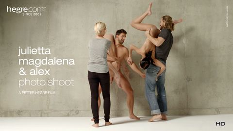 Julietta, Magdalena and Alex Photo Shoot