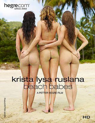 Krista Lysa Ruslana Strand Babes
