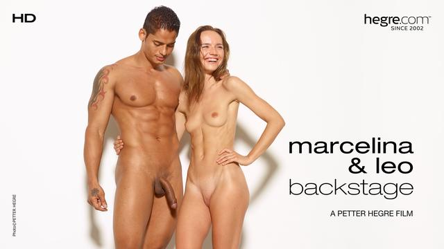 Marcelina And Leo Backstage