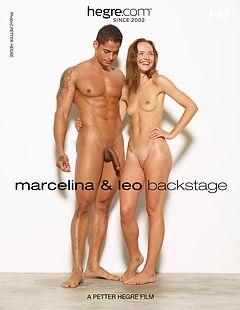 Marcelina et Leo Coulisses