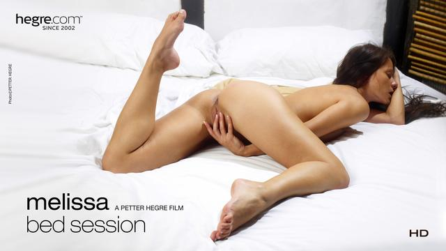Melissa im Bett