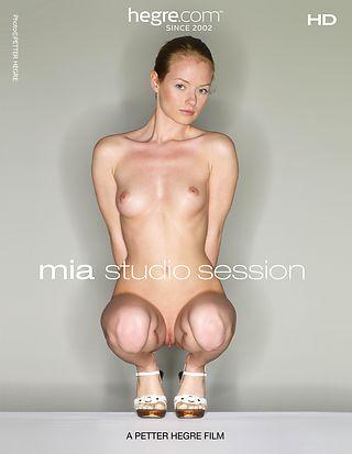 Mia Studio Session
