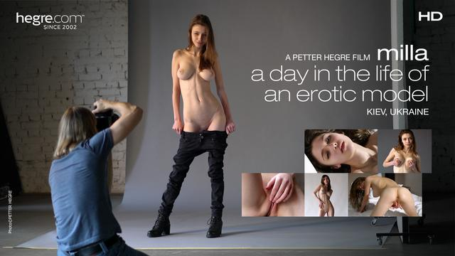 Milla –A day in the life of an erotic model
