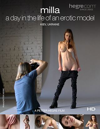 Milla – A day in the life of an erotic model