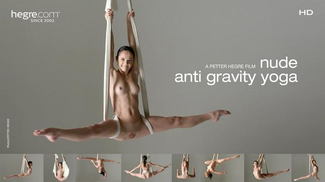 Nude Anti Gravity Yoga