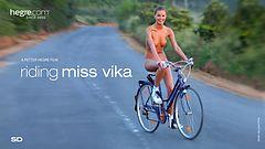 Riding Miss Vika