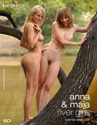 Anna and Maja River Girls