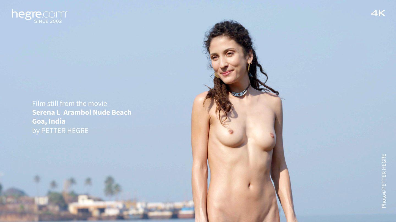 Serena L Arambol Nude Beach Goa India - Hegrecom-6390
