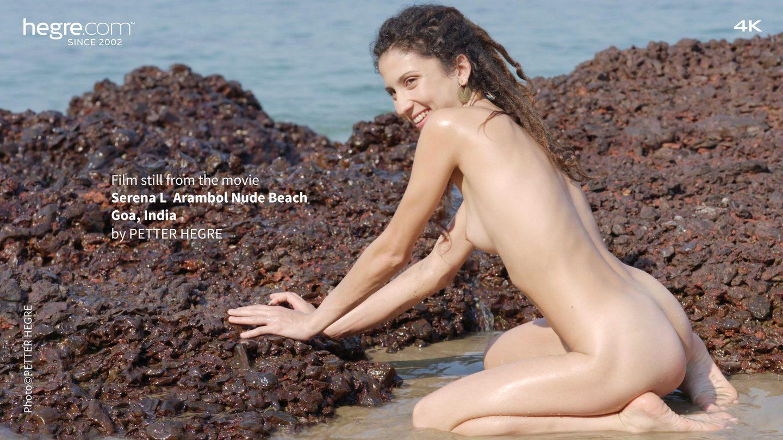 Attractive Nude In Goa Beach Gif