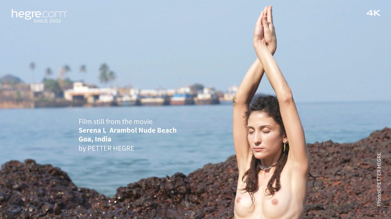 Serena L Arambol Nude Beach Goa India - Hegrecom-5299