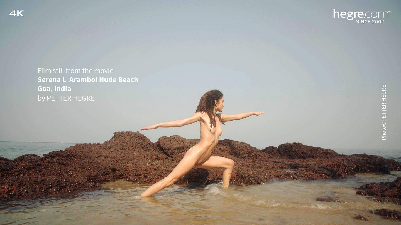 Serena L Arambol Nude Beach Goa India - Hegrecom-1889