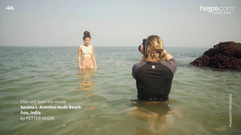 Serena L Arambol Nude Beach Goa India - Hegrecom-7688